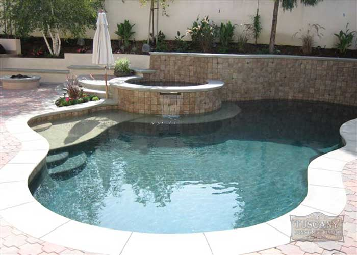 Tuscany Custom Water Features Pool